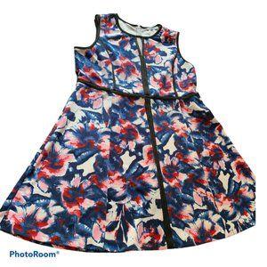 RICKI'S Multi Sleeveless A Line Dress Size 18
